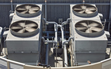 HVAC noise vibration building mechanical cooling system acoustics